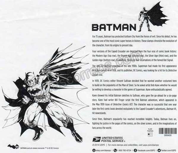 enviar paquetes desde - valor sellos-comics-cine-002
