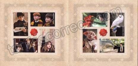 personajes del film peliculas cine Harry Potter