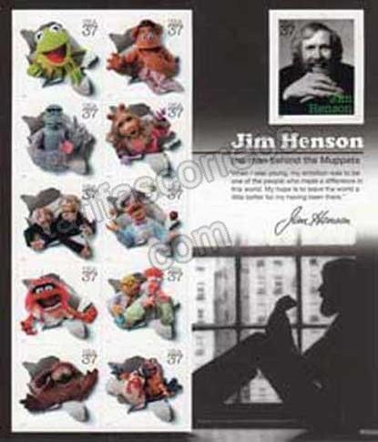 enviar paquetes desde - valor sellos-cómics los Mupper de Jim Henson