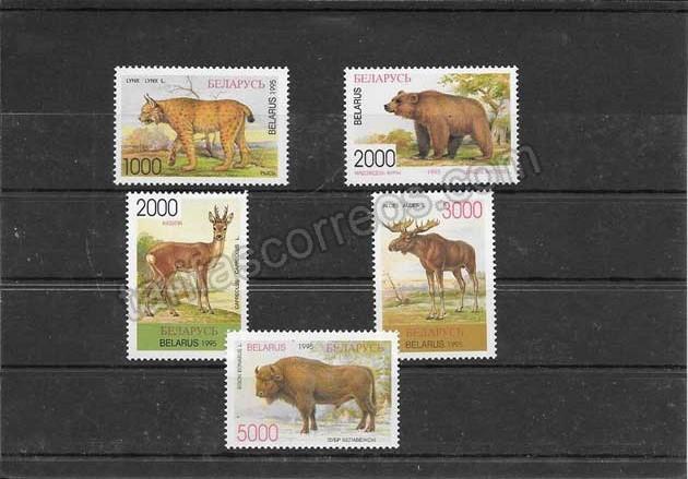 enviar paquetes desde - valor sellos diversidad de la fauna