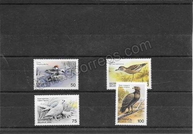 enviar paquetes desde - valor sellos filatelia fauna diversa de Bielorrusia