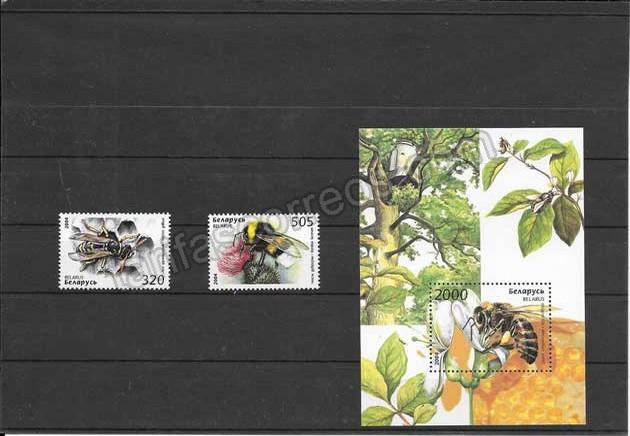 Filatelia sellos  fauna abejas del país