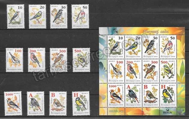 comprar Estampillas fauna Bielorrusia-2006-01