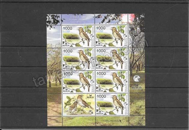 valor y precio Colección sellos fauna - protección de la naturaleza
