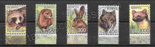 enviar paquetes desde - valor sellos filatelia fauna salvaje del país