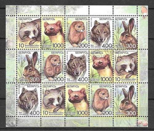 enviar paquetes desde - valor sellos filatelia Bielorrusia-2008-03
