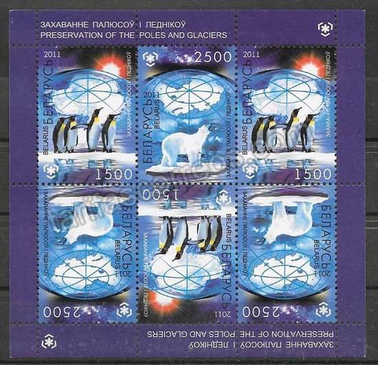 valor y precio Colección sellos protección de las zonas polares Bielorrusia