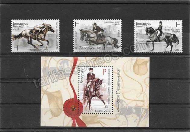 enviar paquetes desde - valor sellos del deporte equitación