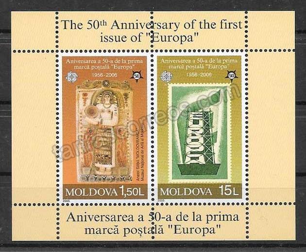 valor y precio Colección de sellos Tema Europa Moldavia 2005