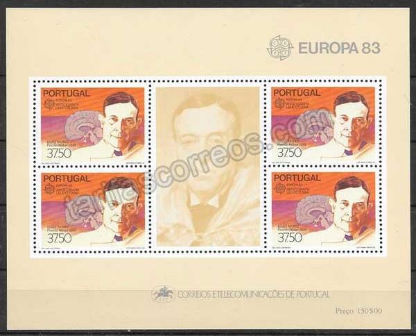 valor y precio Colección filatelia personajes Portugal 1983