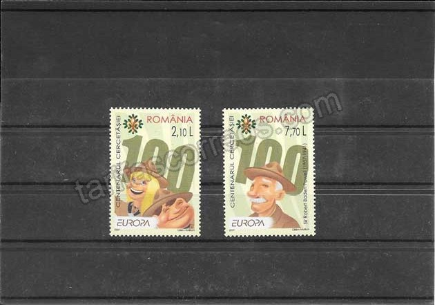 enviar paquetes desde - valor sellos filatelia Tema Europa Rumanía El Escultimo 2007-06
