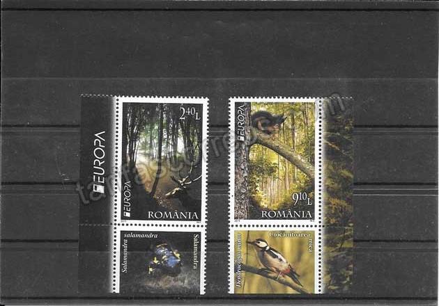 valor y precio Colección sellos Tema Europa Rumanía Los Bosque