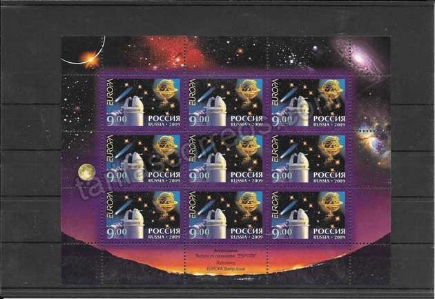 enviar paquetes desde - valor sellos Tema Europatema La astronomia