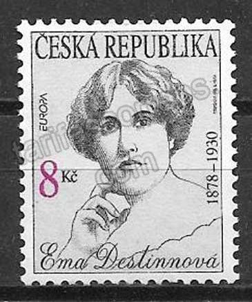 Filatelia Tema Europa Chequia 1996