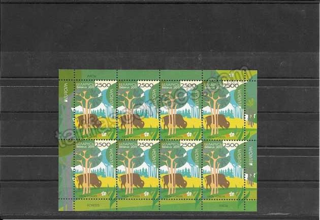 enviar paquetes desde - valor sellos-europa-bielorusia-2011-03