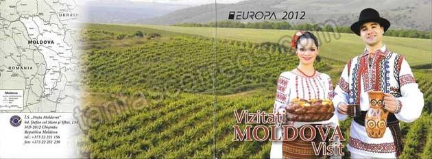 comprar Estampillas Tema Europa Moldavia Turismo 2012-02