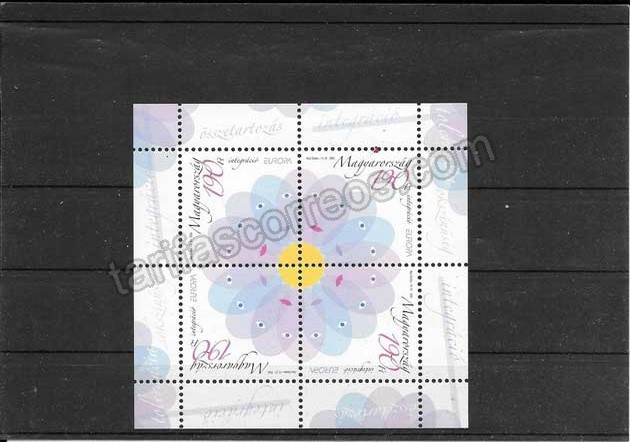 Filatelia sellos Tema Europa Hungría La Integración
