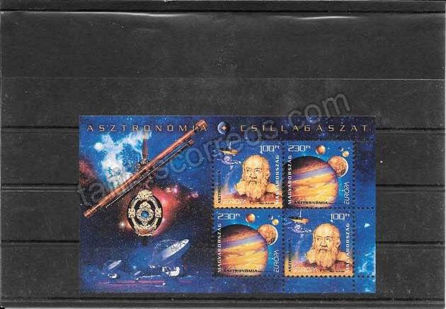 comprar Estampillas sellos Tema Europa Hungría La Astronomía