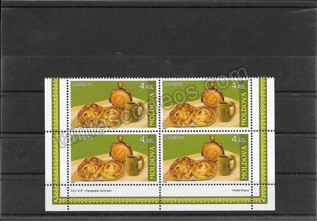 enviar paquetes desde - valor sellos-europa-moldavia-2005-02