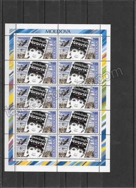 enviar paquetes desde - valor sellos-europa-moldavia-2010-03