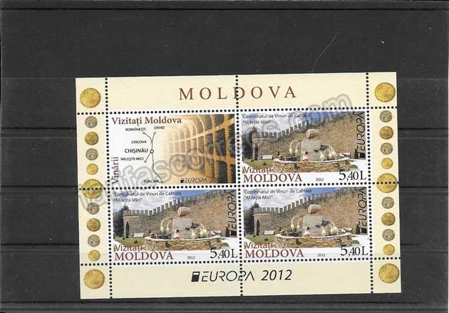 comprar Estampillas Tema Europa Turismo Moldavia