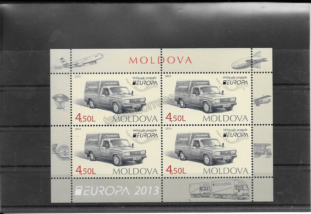 comprar Estampillas Tema Europa Vehículos Postales Moldavia