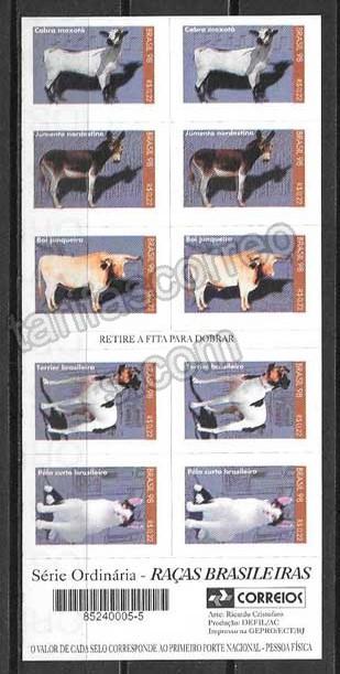 comprar Estampillas fauna Brasil 1998
