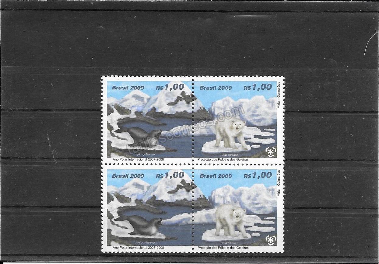 enviar paquetes desde - valor sellos protección de regiones polares