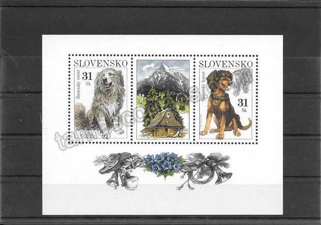 enviar paquetes desde - valor sellos filatelia fauna hojita bloc de perros