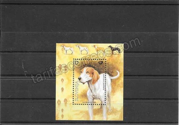enviar paquetes desde - valor sellos hojita fauna perro 2005