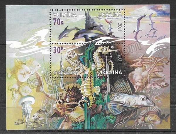 enviar paquetes desde - valor sellos filatelia fauna del mar negro