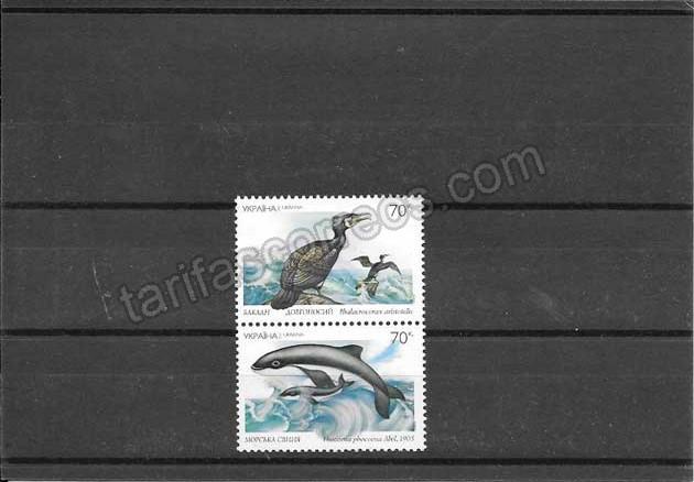 enviar paquetes desde - valor sellos filatelia serie de proteccion de fauna