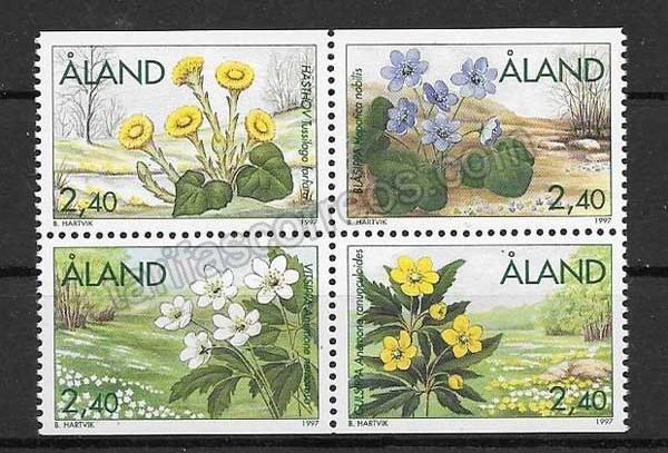 enviar paquetes desde - valor sellos Diversidad de flora 1997