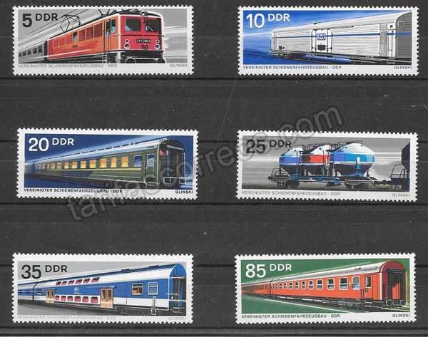 comprar Estampillas transporte ferroviario DDR 1973