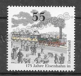 enviar paquetes desde - valor sellos Filatelia transporte ferroviario del país