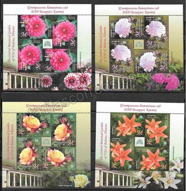 valor y precio Colección sellos flora diversa del país