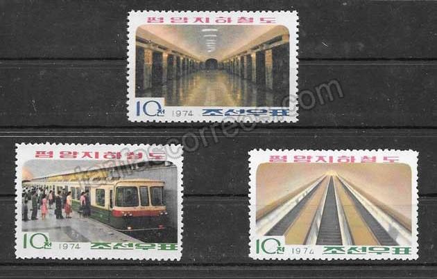 valor y precio Colección sellos terminación del metro de Corea