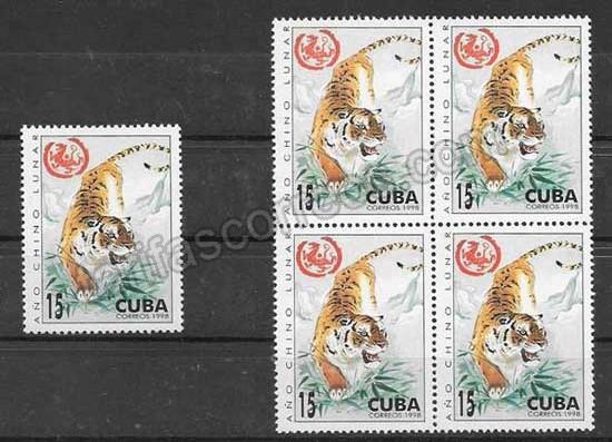 enviar paquetes desde - valor sellos Cuba-1998-01