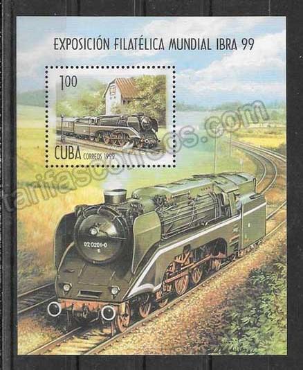Sellos Cuba-1999-01