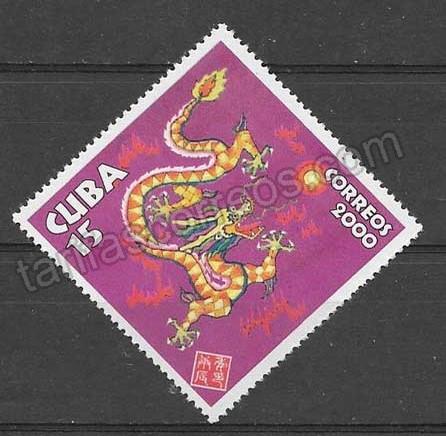 valor y precio Colección Sellos Cuba-2000-01