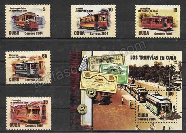 enviar paquetes desde - valor sellos transporte ferroviario en Cuba