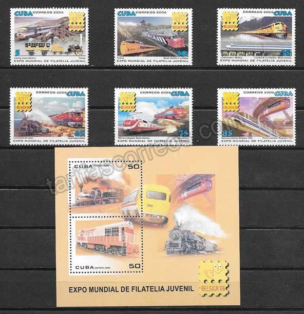 valor y precio Colección sellos Exposición mundial Bélgica 2006
