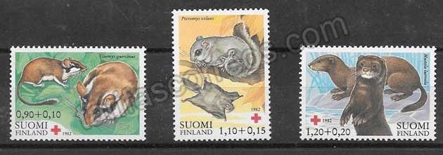 valor y precio Colección sellos Cruz Roja Finlandia 1982