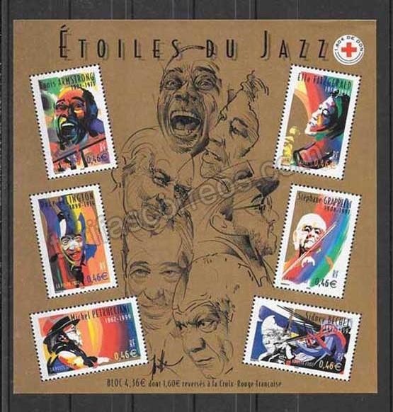 enviar paquetes desde - valor sellos Francia-2002-01
