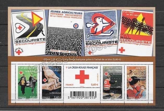 comprar Estampillas Francia-2011-02