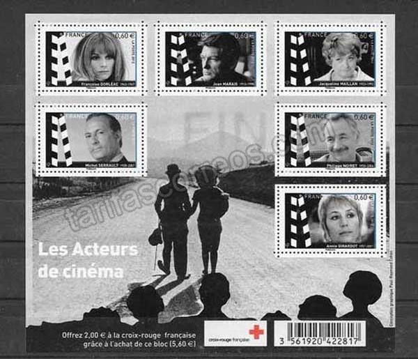 valor y precio Colección sellos Francia-2012-01