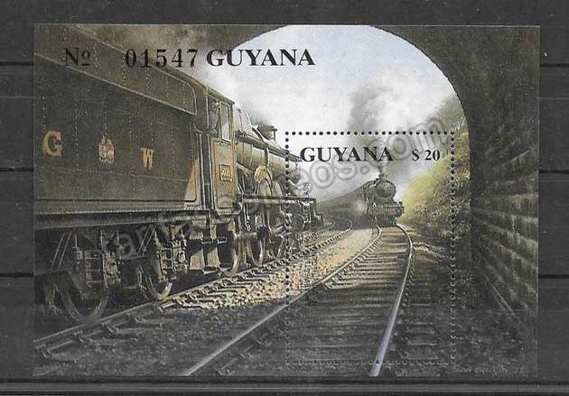 valor y precio Colección sellos trenes del país 1999