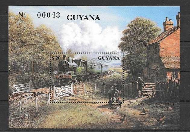 valor y precio Colección sellos Guyana-1990-01