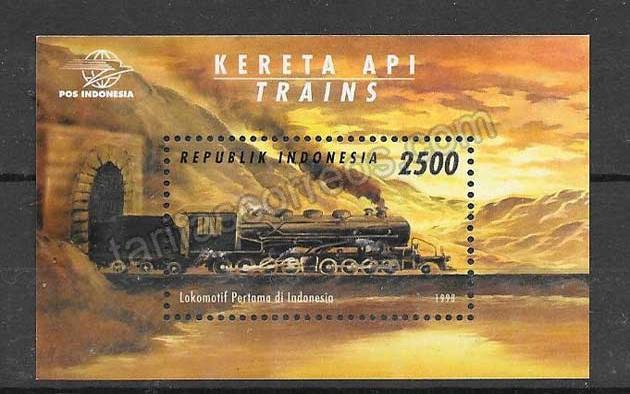 valor y precio Colección sellos Indonesia-1998-01