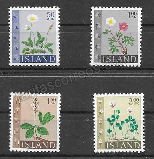 Colección Sellos Islandia-1964-01